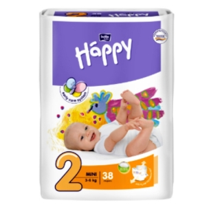 Bella Happy 2 Mini 3-6 kg 38 ks